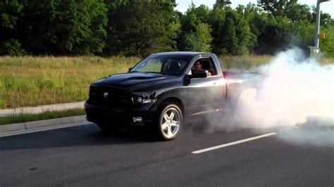 ram r 2011 dodge ram r t burnout