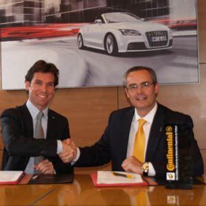 Firma Continental by Continental Firma Un Acuerdo Con Audi Para Equipar Con Sus