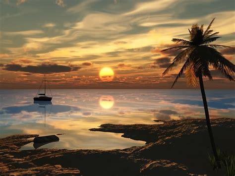 imagenes en 3d de paisajes fonditos playa 3d paisajes cad