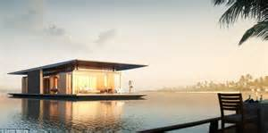 floating houses property with panoramic sea views for sail architect