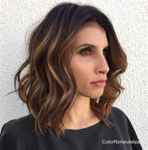 super lob curled 60 super chic hairstyles for long faces to break up the length