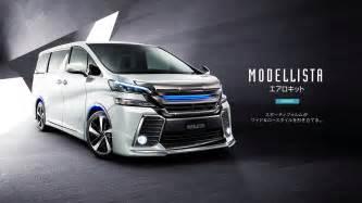 Toyota Vallfire 2016 Toyota Alphard Vellfire Get Modellista Kits