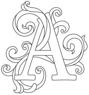 printable embroidery alphabet letter perfect alphabet gorgeous letters all different