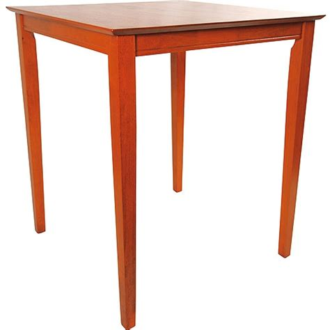 square bar height table boraam square bar height pub table by boraam upc 852896706647