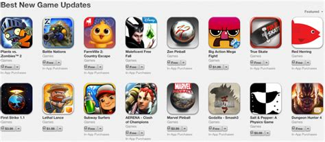 popular news updates apple rolls out section for best new game updates on app
