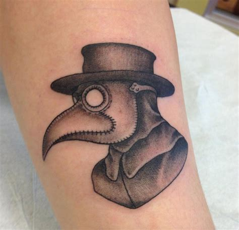 plague doctor tattoo plague doctor by dave pelham at sacred in