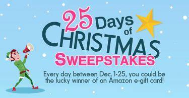 25 Days Of Christmas Sweepstakes - 25 days of christmas sweepstakes winners surveypolice blog