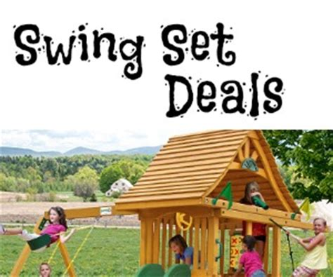 swing set deals gorilla playsets swing set sale 600 off free shipping