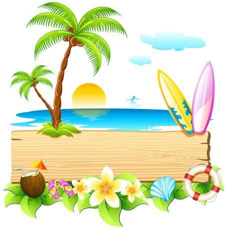 clipart vacanze vacanza sulla spiaggia mare clipart clipart me