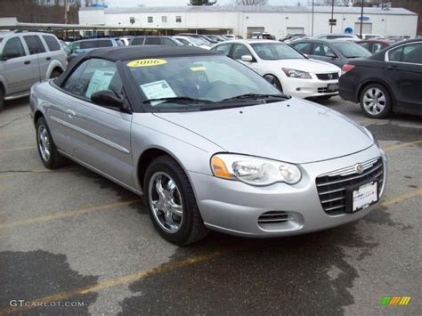 Chrysler Sebring 2006 Convertible by Bright Silver Metallic 2006 Chrysler Sebring Convertible