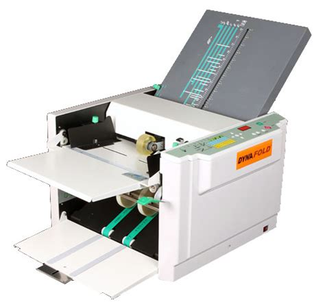 Folding Machine Paper - de 380 automatic paper folding machine paperfolder