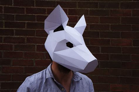 Sticker Cutting Terror Skull i m dead make your own skull mask out of cardboard