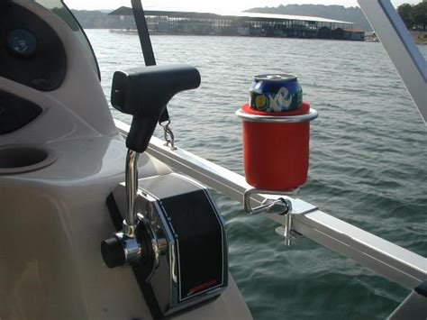 boat accessories tray pontoon boat cup holder holds your drink securely gifts