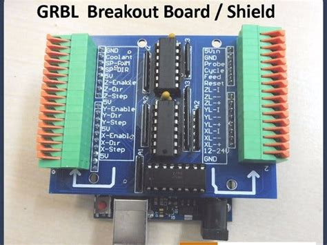 tutorial grbl arduino grbl breakout board shield arduino uno arduino project hub