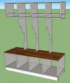 Mud Room Dimensions remodelaholic diy corner shelf with storage