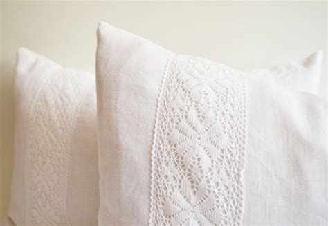 Linen Throw Pillow Covers by Sukan 1 Linen Pillow Covers White Decorative Throw