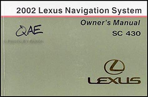 hayes auto repair manual 2002 lexus lx navigation system 2002 lexus sc 430 wiring diagram manual original