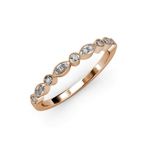 raine 1 30 mm marquise and dot wedding band