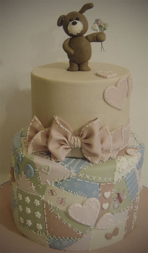 Patchwork Teddy - patchwork teddy cakecentral