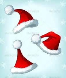 Cartoon santa claus christmas hats christmas seasons holidays