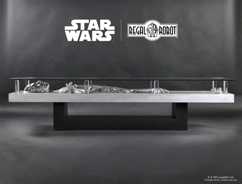han frozen in carbonite coffee table the green