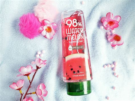 Aloe Vera Gel Etude review etude house 98 watermelon soothing gel