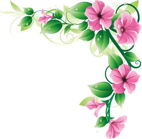 free flower clipart flowers border clipart png clipartsgram