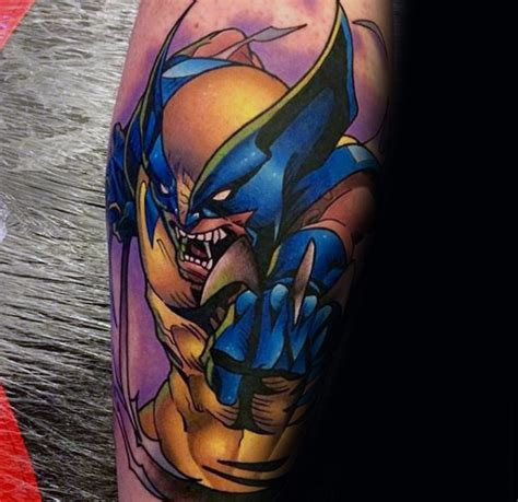 xmen tattoos 90 wolverine designs for ink ideas