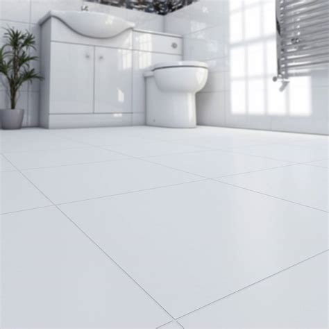 White Tile Bathroom Floor by White Porcelain Bathroom Floor Tiles 29 White Gloss Black