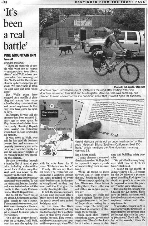 Ventura Syari july 2007 mountain bike cing trip through los padres