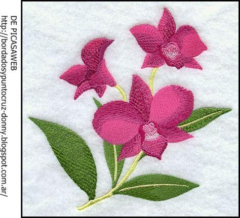 imagenes de flores bordadas a mano imagenes de flores para bordar a maquina