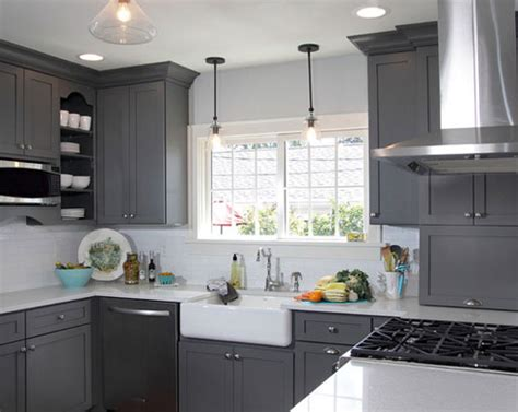 pictures of gray kitchen cabinets the psychology of why gray kitchen cabinets are so popular
