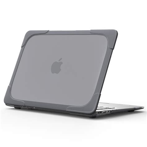 macbook air rugged heavy duty shockproof for 13 inch macbook air grey