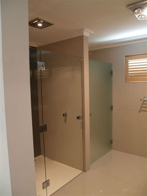 frosted shower screens bath shower screens perth frameless and semi frameless