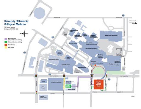 ky hospital map links md phd program