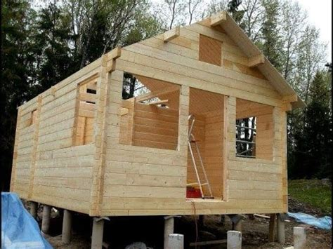 wood to build a house building a small tiny wooden house pictures youtube