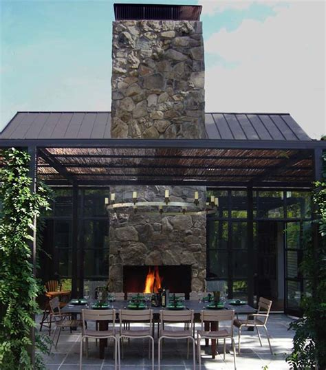 outdoor fireplace chimney design 53 most amazing outdoor fireplace designs
