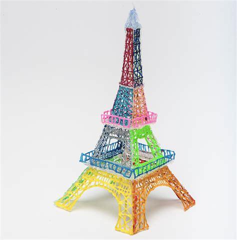 the doodler 3d pen eiffel tower the 3doodler