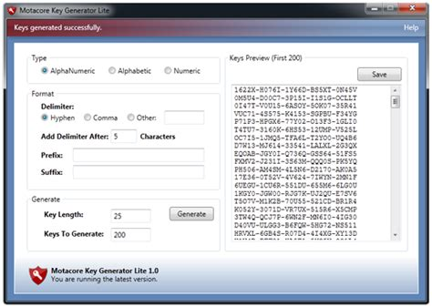key generator lite free and reviews fileforum