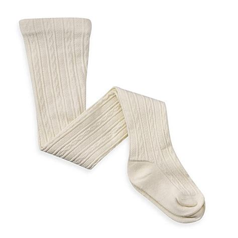 newborn cable knit tights capelli new york cable knit tights in ivory bed bath