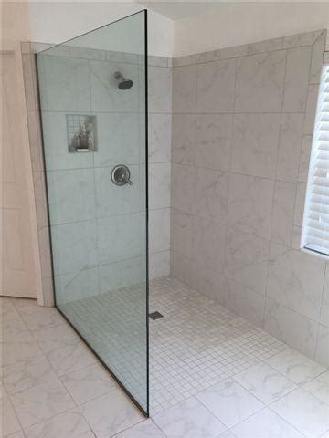 curbless bathroom showers walk in curbless tile shower bathroom in riverview florida ceramictec updates