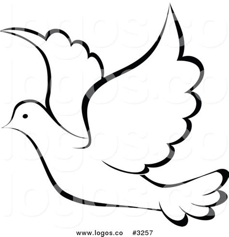 Small Dove Outline by Dove Clip Black And White Peace Clip Vector Clipart And Dove Bird