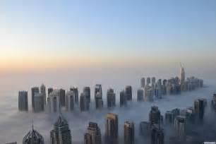 clouds with dubai architektt