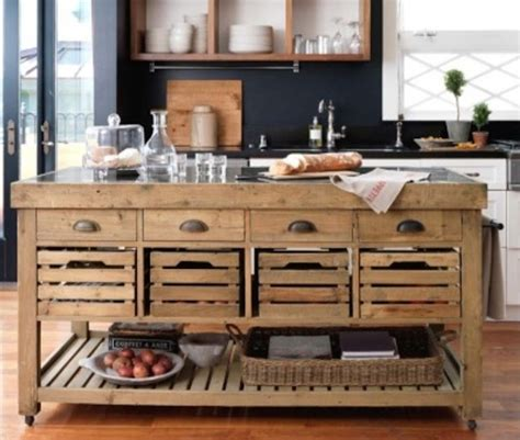 rustic kitchen furniture repurposed reclaimed nontraditional kitchen island