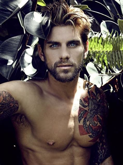 sexy guys with tattoos monday guys with beards