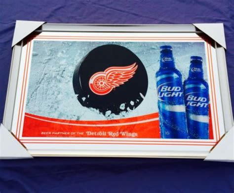 budweiser red light for sale red wings mirror for sale classifieds