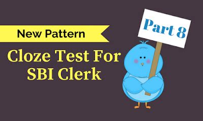 new pattern bank exam new pattern cloze test for sbi clerk 8 bank exams today