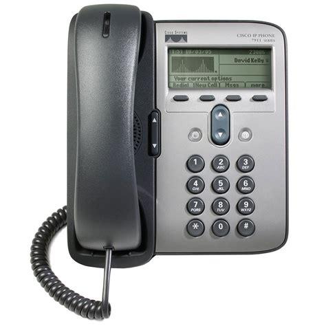 cisco ip cisco 7911g 1 line voip phone refurbished cp 7911g rf