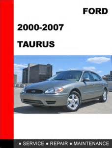 owners manual ford taurus 2000 book db