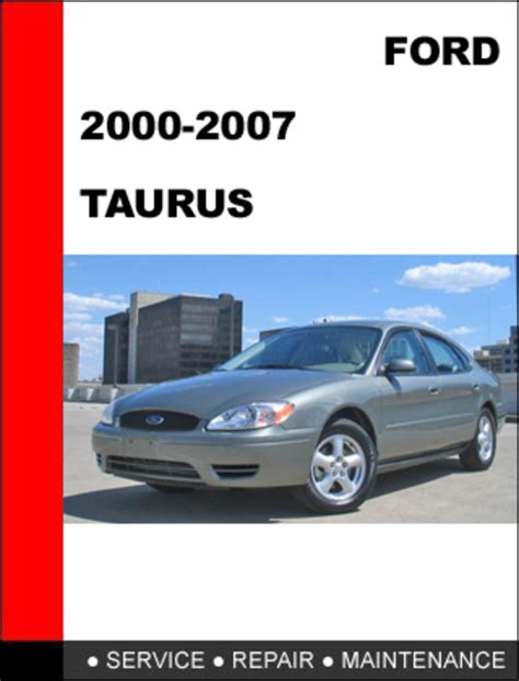 auto manual repair 2000 ford taurus regenerative braking ford taurus 2000 to 2007 factory workshop service repair manual